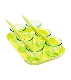 Zak Designs® 13-pc. Tasting Cups and Spoons with Tray