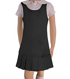 French Toast® Girls' 2T-14 Pleated Hem Jumper
