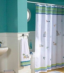 Croscill® Ocean Surf Shower Curtain