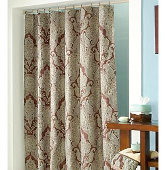 Croscill Plateau Shower Curtain Croscill Home Shower Curtains