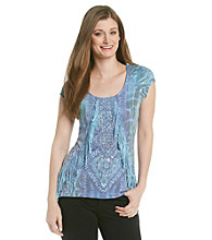 Oneworld® Fringe Front Top