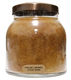 A Cheerful Giver Caramel Praline Stickybun Glass Jar Candles