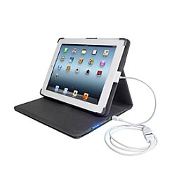 Digital Treasures Props Power Case for iPad 2&reg:, iPad 3®, and iPad 4®.
