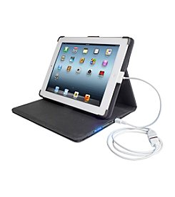 Digital Treasures Deluxe Power Case for iPad 2®, iPad 3®, and iPad 4®.