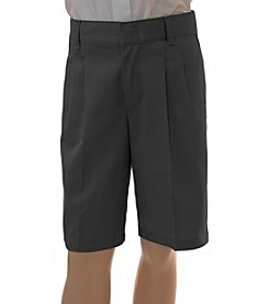 French Toast® Boys' 4-20 Pleated Adjustable Waist Shorts