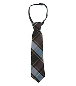 French Toast® Boys' 4-20 Adjustable Plaid Tie