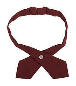 French Toast® Boys' Adjustable Solid Cross Tie