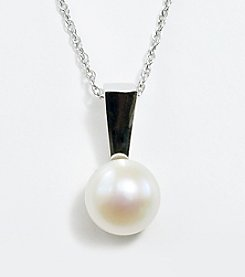 Freshwater Pearl Pendant on 18
