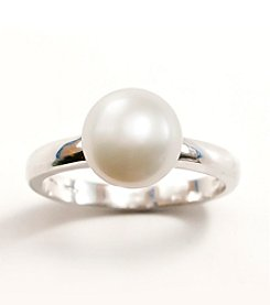 Sterling Silver,Freshwater Pearl Ring