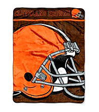 Cleveland Browns Micro Raschel Living Large Throw