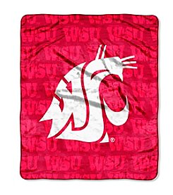 NCAA® Washington State University Micro Raschel Living Large Throw
