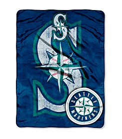 Seattle Mariners Micro Raschel Living Large Throw
