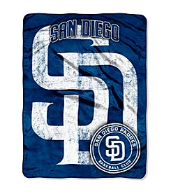 MLB® San Diego Padres Micro Raschel Living Large Throw