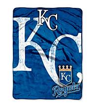 Kansas City Royals Micro Raschel Living Large Throw