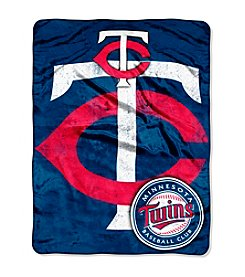 MLB® Minnesota Twins Micro Raschel Living Large Throw