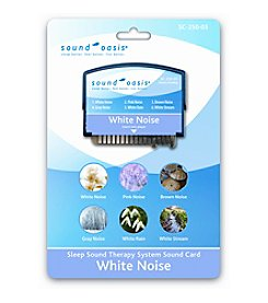 Sound Oasis® White Noise Sound Card