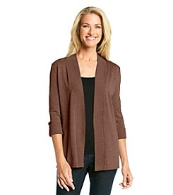 Laura Ashley® Tab Sleeve Cardigan