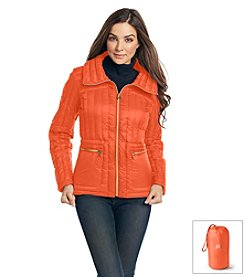 MICHAEL Michael Kors® Short Packable Down Jacket with Double Pocket