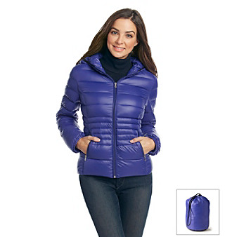 Halifax Short Packable Down with Hood
