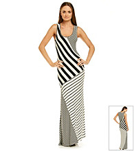 Romeo & Juliet Couture® Block Striped Maxi Dress