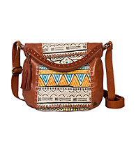 The Sak® Deena Painted Tribal Flap Crossbody