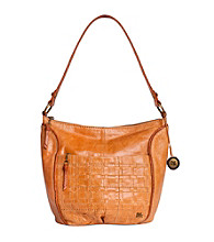The Sak® Iris Camel Woven Large Hobo