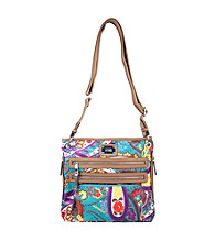 Tyler Rodan™ Green Paisley Print Kingston Crossbody