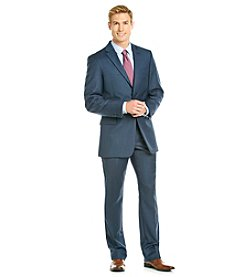 Tommy Hilfiger® Men's Navy Sharkskin Suit Separates