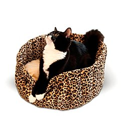 K&H Pet Products Lazy Leopard Pet Cup
