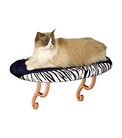 K&H Pet Products Zebra Kitty Sill