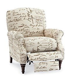 Lane® Chloe Script High Leg Recliner