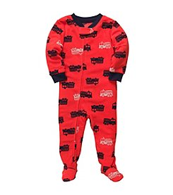Carter's® Boys' 12M-4T Red Fire Truck Blanket Sleeper