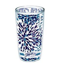 Fiesta® Dinnerware Tervis® Tumbler Lapis Calypso Flower Insulated Cooler