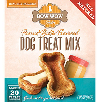 Bow Wow Bistro Peanut Butter Dog Treat Mix