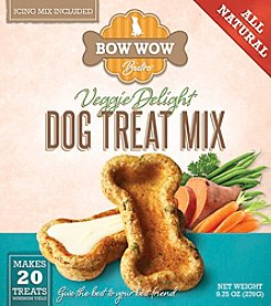 Bow Wow Bistro Veggie Delight Dog Treat Mix