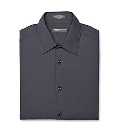 John Bartlett Statements Men's Basalt Long Sleeve Broadcloth Dress Shirt