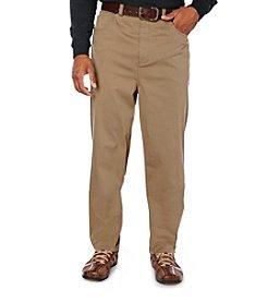 Harbor Bay® Men's Big & Tall Dark Khaki Continuous Comfort 5-Pocket Pant