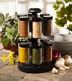 Kamenstein Spice Up Your Health 12 Jar Revolving Spice Rack