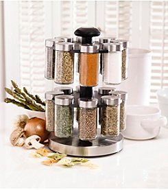 Kamenstein Lexington 16 Jar Revolving Spice Rack