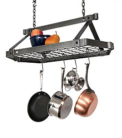 Enclume Retro Rectangle Hanging Pot Rack