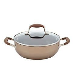 Anolon® Advanced 3.5-qt. Bronze Hard-Anodized Nonstick Covered Chef's Casserole
