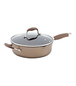 Anolon® Advanced 4-qt. Bronze Hard-Anodized Nonstick Covered Saute Pan
