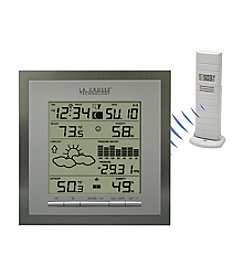 La Crosse Technology® Wireless Forecast Station with 24 Hour Pressure History