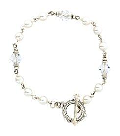 1928 Signature Toggle Clasp Pearl Bracelet