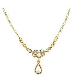 1928 Signature Venetian Pearl Delicate Drop Necklace