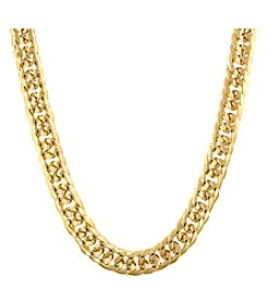 1928 Signature Cleopatra Double Curb Chain Necklace