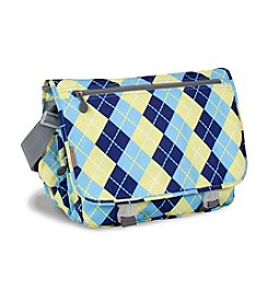 J World® Terry Argyle Messenger Bag