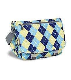 J World® Terry Argyle Messenger Bag