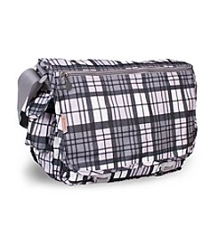 J World® Terry Tartan Messenger Bag