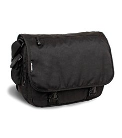 J World® Terry Black Messenger Bag